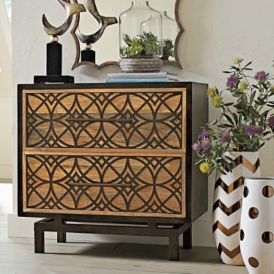 """2019 Hargrove 72"""" Wide 3 Drawer Mango Wood Sideboards Throughout Aria Chest – Grandin Road – 33 1/2w X 18d X 32 1/4h (View 22 of 30)"""