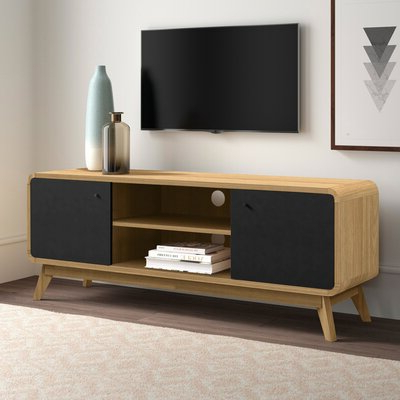 """2019 Jace Tv Stands For Tvs Up To 58"""" With Regard To Black Tv Stands & Entertainment Units You'll Love (View 5 of 30)"""