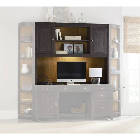 2019 South Park Computer Credenza Hutch In Grays (View 16 of 30)