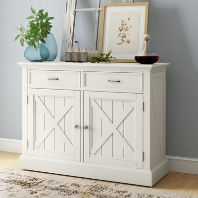 2019 White Sideboards & Buffets You'll Love In  (View 4 of 30)