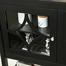 "2020 Amazon – Mixcept 52"" Stylish Sideboard Buffet Cabinet Throughout Bartolomeus (View 17 of 30)"