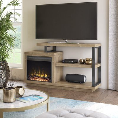 """2020 Brown Fireplace Tv Stands & Entertainment Centers You'll Intended For Binegar Tv Stands For Tvs Up To 65"""" (View 14 of 30)"""