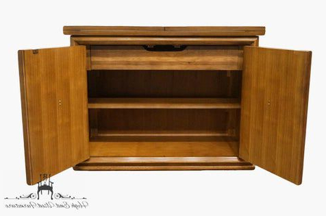 """2020 Ellison 76"""" Wide Sideboards Within Late 20th Century Vintage Thomasville Furniture San Sei (View 26 of 30)"""