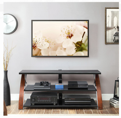 """2020 Metin Tv Stands For Tvs Up To 65"""" Inside New Brown Whalen Payton 3 In 1 Flat Panel Tv Stand For Tvs (View 2 of 30)"""