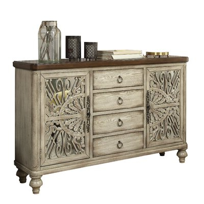 """2020 Myndi 60"""" Wide Sideboards With Regard To 60 Inch Buffet Server (View 14 of 30)"""