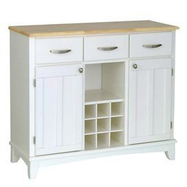 """2020 Tabernash 55"""" Wood Buffet Tables Regarding 3 Drawer Buffet Cabinet In White With 2 Doors Opening To (View 22 of 30)"""