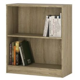 """4 You Low Wide Bookcase In Sonoma Oak For Recent Kidham 68"""" Wide Sideboards (View 14 of 30)"""