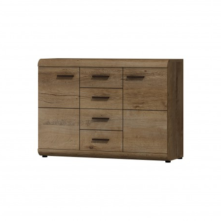 """42"""" Wide Sideboards With Regard To Trendy Bmf Lena 14 Sideboard With Drawers Doors 120cm Wide Lefkas (View 17 of 30)"""
