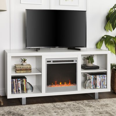 """60 69 Inch Fireplace Tv Stands & Entertainment Centers You Pertaining To Newest Whittier Tv Stands For Tvs Up To 60"""" (View 2 of 30)"""