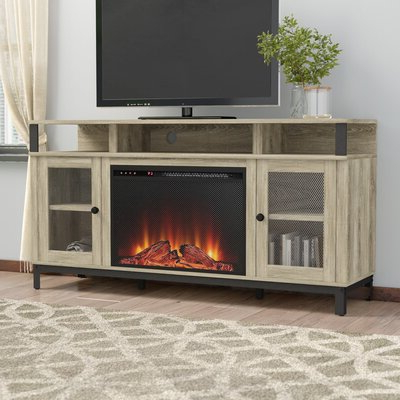 """60 69 Inch Fireplace Tv Stands & Entertainment Centers You Regarding Well Known Alannah Tv Stands For Tvs Up To 60"""" (View 16 of 30)"""