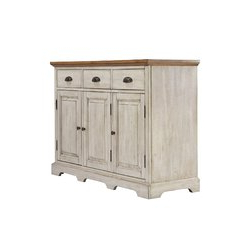 """64"""" Wide Rubberwood Sideboards In Recent Three Posts™ Fortville 52"""" Wide 3 Drawer Rubberwood Wood (View 19 of 30)"""