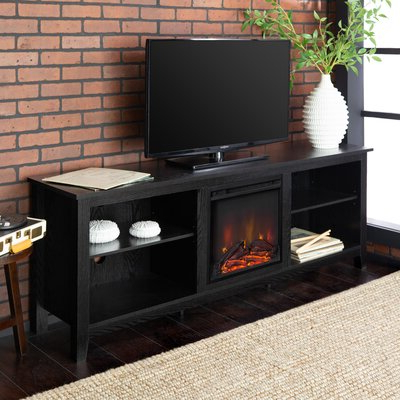 """70 Inch And Larger Black Tv Stands & Entertainment Centers Inside Recent Huntington Tv Stands For Tvs Up To 70"""" (View 28 of 30)"""