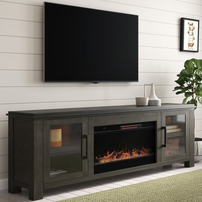 Featured Photo of Blaire Solid Wood Tv Stands For Tvs Up To
