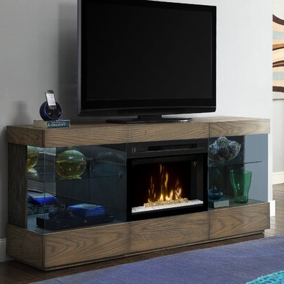"""75 Inch Fireplace Tv Stands & Entertainment Centers You'll Inside 2019 Lucille Tv Stands For Tvs Up To 75"""" (View 17 of 30)"""
