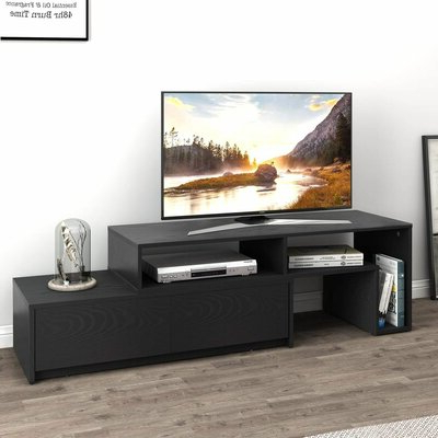 85 Inch Tv Tv Stand Tv Stands & Entertainment Centers You Regarding Most Up To Date Blaire Solid Wood Tv Stands For Tvs Up To  (View 10 of 30)