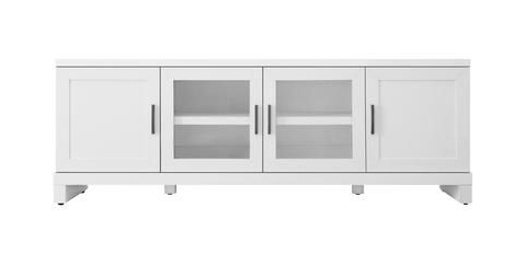"""Aaric Tv Stands For Tvs Up To 65"""" Within 2019 Brayden 65 Inch Tv Stand – White In (View 14 of 30)"""