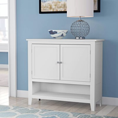 """Aayah 45"""" Wide 2 Drawer Servers For Favorite Modern Credenzas & Sideboards You'll Love In  (View 3 of 30)"""