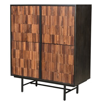 """Aayah 45"""" Wide 2 Drawer Servers With Regard To Current Modern Accent Cabinets + Chests (View 29 of 30)"""