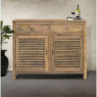 """Acacia Intended For 64"""" Wide Rubberwood Sideboards (View 15 of 30)"""