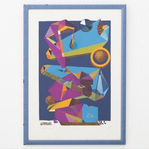 "Albermarle Sideboards With Newest Litograph ""die Epoche"" (med Billeder) (View 30 of 30)"
