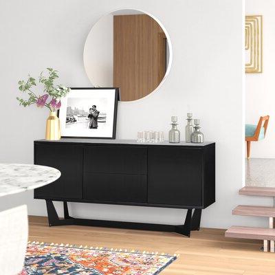 """Allmodern Inside Frida 71"""" Wide 2 Drawer Sideboards (View 23 of 30)"""