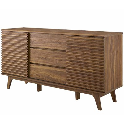 """Allmodern Pertaining To Milena 52"""" Wide 2 Drawer Sideboards (View 25 of 30)"""