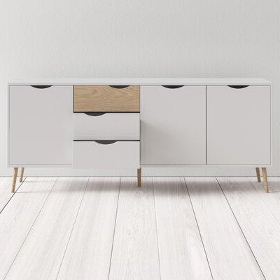 "Allmodern Throughout Miruna 63"" Wide Wood Sideboards (View 22 of 30)"