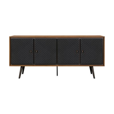 """Allmodern Throughout Well Known Voight 46"""" Wide 4 Drawer Acacia Wood Drawer Servers (View 17 of 24)"""