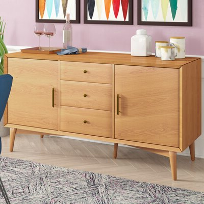 """Allmodern With Slattery 52"""" Wide 2 Drawer Buffet Tables (View 7 of 30)"""