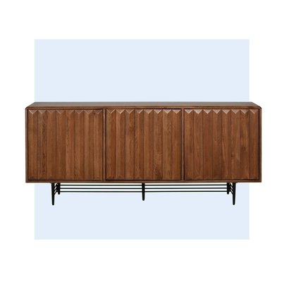 """Allmodern With Zinaida 59"""" Wide Mango Wood Buffet Tables (View 5 of 30)"""
