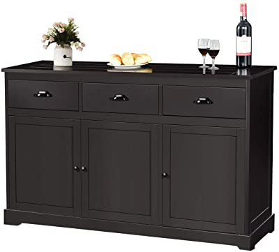 """Featured Photo of Douros 42"""" Wide Alder Wood Drawer Servers"""