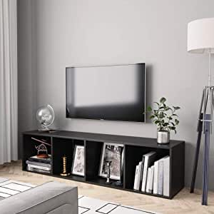 Amazon: Vidaxl Convertible Tv Console Stand And For Famous Kemble Tv Stands For Tvs Up To (View 21 of 30)