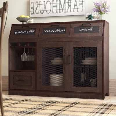 """American Drew Sideboards & Buffets You'll Love In 2020 With Widely Used Albright 58"""" Wide 3 Drawer Sideboards (View 22 of 30)"""