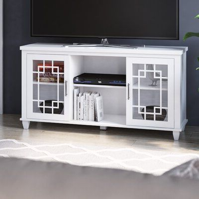 """Andover Mills™ Gorgas Tv Stand For Tvs Up To 60"""" Color Throughout Most Recently Released Skofte Tv Stands For Tvs Up To 60"""" (View 8 of 30)"""