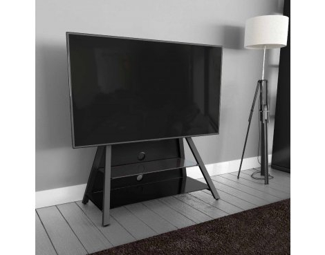 """Argus Tv Stands For Tvs Up To 65"""" Throughout Most Current Avf Options Easl925a Easel Cantilever Tv Stand For Up To (View 15 of 30)"""