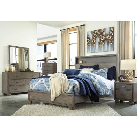 Arnett Gray Bedroom Set – Speedyfurniture Intended For Most Current Neidig (View 14 of 16)