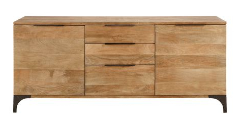 """Barn Throughout Most Recent Claire 70"""" Wide Acacia Wood Sideboards (View 18 of 30)"""