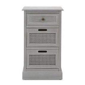 Bedside Table Grey, Grey Throughout Well Known Naomi (View 25 of 30)