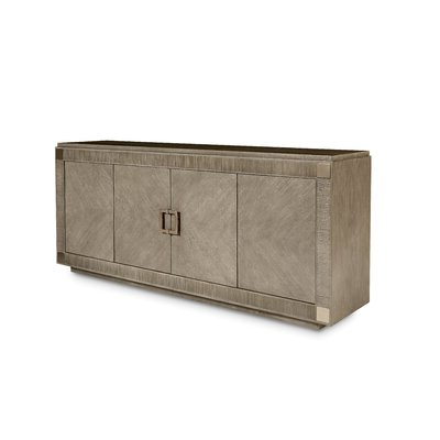Beige Sideboard / Credenza Sideboards & Buffets You'll With Regard To Fashionable Fitzhugh Credenzas (View 8 of 21)