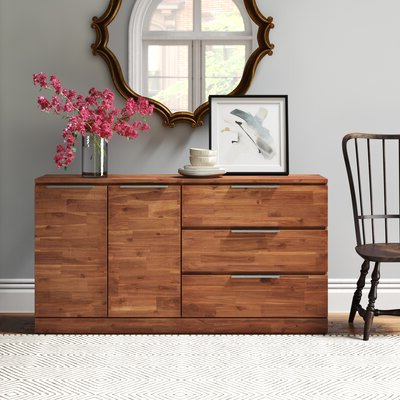 """Benghauser 63"""" Wide Sideboards Within Popular Sideboards & Buffet Tables (View 5 of 30)"""