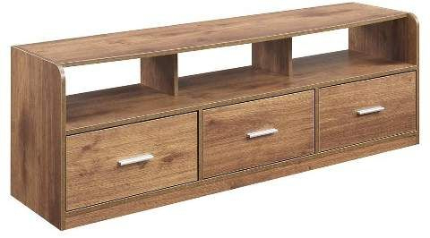 """Best And Newest Convenience Concepts Tribeca Tv Stand – Brown (60') # With Avenir Tv Stands For Tvs Up To 60"""" (View 13 of 30)"""