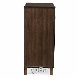 Best And Newest Dark Brown Wooden Buffet Server Storage Cabinet Dining Within Kaysville (View 19 of 30)