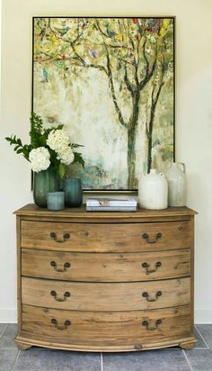 """Best And Newest Farmhouse Friday – Baskets And Bins – Page 9 Of 19 For Kinston 74"""" Wide 4 Drawer Pine Wood Sideboards (View 26 of 30)"""