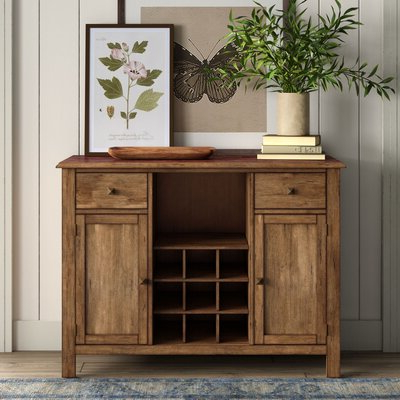 """Best And Newest Farmhouse & Rustic Sideboards & Buffets – Made To Last With Regard To Palisade 68"""" Wide Sideboards (View 5 of 30)"""