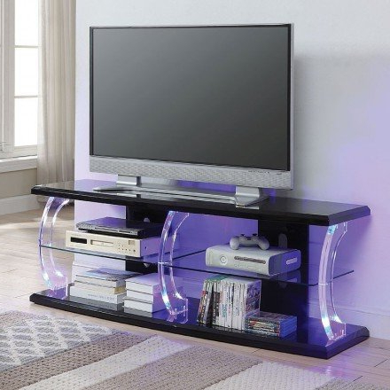 """Best And Newest Herington Tv Stands For Tvs Up To 60"""" Pertaining To Aileen 60 Inch Tv Stand (black) – 1stopbedrooms (View 25 of 30)"""