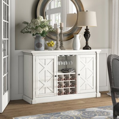 """Best And Newest Keiko 58"""" Wide Sideboards Throughout Farmhouse & Rustic Sideboards & Buffets (View 20 of 30)"""