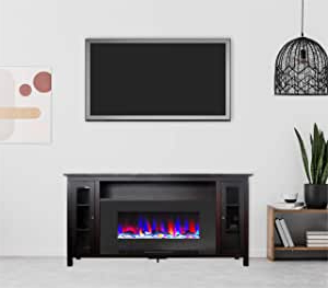 """Best And Newest Mainor Tv Stands For Tvs Up To 70"""" Throughout Amazon: Cambridge Somerset 70 In (View 29 of 30)"""