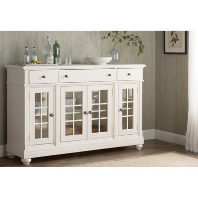 """Birch Lane In Most Current Caila 60"""" Wide 3 Drawer Sideboards (View 8 of 30)"""