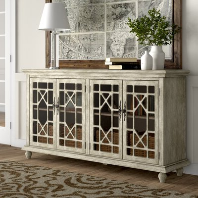 """Birch Lane Pertaining To Millstadt 52"""" Wide 3 Drawer Pine Wood Buffet Tables (View 8 of 30)"""