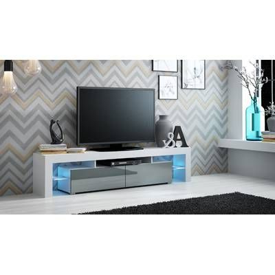 Black Glass Tv Stand (View 10 of 30)